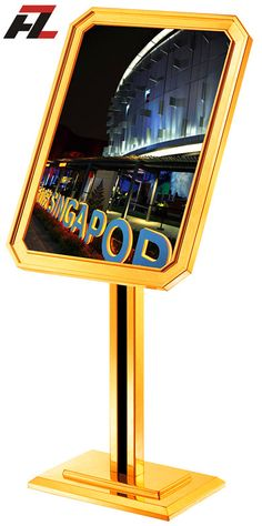 European Style Advertisement Poster Stands -Poster Display