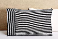 Suzanne Pillowcase, Navy Stripe on OneKingsLane.com  until 2/10 https://www.onekingslane.com/product/32723/2049175