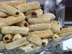 Date Fingers Recipe - Arabic Food Recipes