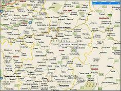 Localização no concelho de Tarouca