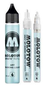 Molotow GRAFX Art Masking Liquid Pen allows for precise application. Molotow GRAFX Art Masking Liquid Pen allows for precise application. Watercolor Masking Fluid, Watercolor And Ink, Watercolor Ideas, Bookbinding, Art Tips, Adult Coloring, Art Supplies, Amazing Art, Vodka Bottle