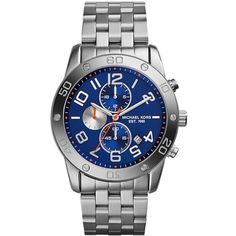 MICHAEL KORS Mercer Stainless Steel Chronograph Watch $275