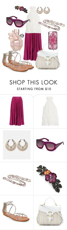 """""""Sunday outfit; brunch"""" by feralkind ❤ liked on Polyvore featuring Raoul, Cinq à Sept, Avenue, Tom Ford, 1928, Steve Madden and Serpui"""