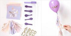 Balloon Wands Three Ways Balloon Hacks, Ruffled Tablecloth, Diy Wand, Mini Balloons, Elegant Centerpieces, Balloon Animals, Party Shop, Craft Party, Party Printables