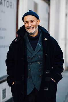 "billy-george: ""Designer Nigel Cabourne for Vogue Hommes Photo by Jonathan Pryce """