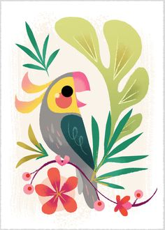 Printed with an Epson Sure Color printer on Epson Velvet Fine Art Paper. Each print is packaged in a clear bag with backing board and shipped to you in a stiff envelope. This dainty print measures Oh, and it is signed by me! Thanks for stopping by! Cockatiel, Watercolor Paintings, Pastel Paintings, Watercolor Trees, Watercolor Portraits, Watercolor Landscape, Abstract Paintings, Art Paintings, Indian Paintings