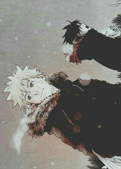 Sasuke Naruto Uchiha Uzumaki Winter Snow