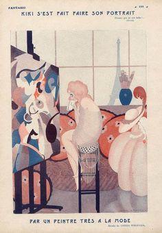 Histoire de l'art: Gerda Wegener