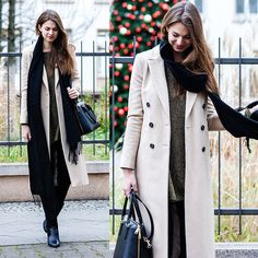 Get this look: http://lb.nu/look/7949974  More looks by Jacky: http://lb.nu/whaelse  Items in this look:  Topshop Scarf, Topshop Coat, Glamorous Dress   #chic #minimal #street #modeblog #fashionblog #whaelse #streetstyle #inspo #christmas