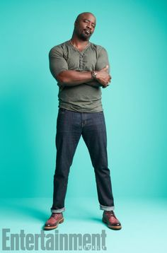 Mike Colter at Comic-Con 2017 for Entertainment Weekly Dinner Recipes For Kids, Dinners For Kids, Healthy Dinner Recipes, Kids Meals, Healthy Snacks, Protein Packed Breakfast, Celebrity Photography, Entertainment Weekly, How To Cook Steak