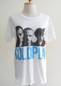 Coldplay Shirt British Rock Band Alternative Rock Post Britpop -- Coldplay T-Shirt Music Tee Shirt Women T-Shirt Men T-Shirt Size M