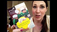 Taste testing Savanna Smiles Girl Scout Cookies!