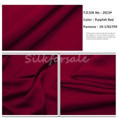 http://www.silkfabricwholesale.com/8mm-silk-habotai-fabric-purplish-red.html     F.D. silk most professional 8mm silk habotai fabric-purplish red supplier.