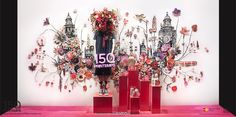 150th PRINTEMPS Anniversary. Paris. Illustration by Anne Ten Donkelaar. 03.2015. photo@FrancisPeyrat. 150.printemps.com