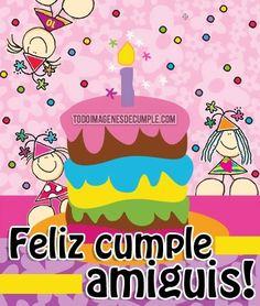 imagenes de cumpleaños para amiga