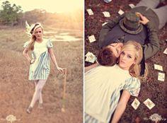 Preboda inspirada en Alicia en el país de las maravillas  http://envidienmiboda.com/2013/06/10/preboda-inspirada-alicia-en-el-pais-de-las-maravillas/