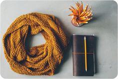 knitting and my midori traveler's notebook   Flickr - Photo Sharing!