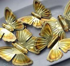 Upcycled wallpaper butterfly magnets. - Mod Podge RocksMod Podge Rocks
