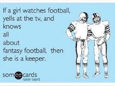 Girls who like Football