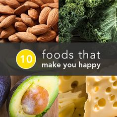 10 Foods Scientifically-Proven to Make You Happier