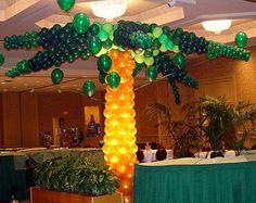 Balloon palm tree with LED lighting. #balloon #decor #lighting #balloon #column #lighting #balloon decoration #lighting #balloon #sculpture #lighting #balloon #art #lighting #balloon #twists #lighting  #balloon #decor #glow #led #balloon #column #glow #led #balloon decoration #glow #led #balloon #sculpture #glow #led #balloon #art #glow #led #balloon #twists #glow #led #balloon #decor #glow-stick #balloon #decoration #glow-stick