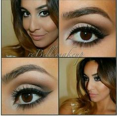 A cute everyday look by @reBellemakeup
