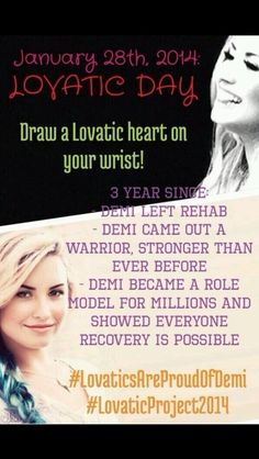 Super proud of her :'D ♥ #lovaticsareproudofdemi