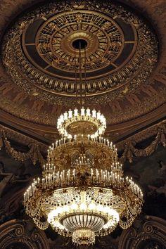 Opulence. #chandelier