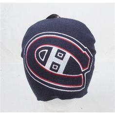 Montreal Canadiens Logo Hype Uncuffed NHL Knit Cap Beanie