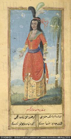 Woman of the East Indies | Zenanname, 1776/77