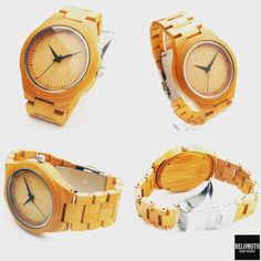We're very proud of our newest design! Here's our all-natural bamboo wood watch, from its dial to its strap. We call this watch 'Tibayan' and it is only for $80 at www.relomoto.com/products/tibayan. Use this 10% discount code: tumblr