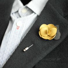 Suede+Men's+Flower+Boutonniere+/+Buttonhole+For+Wedding,Lapel+Pin,Tie+Pin    Gorgeous+and+Beautiful+Men's+flower+Boutonniere/Buttonhole+for+wedding,Lapel+pin,hat+pin,tie+pin.    Handmade+flower+in+our+studio.+  Great+quality+Stick+pin+with+cover+cap+made+in+Korea.    ♥+Size+or+Measurements+  flow...