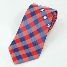 Officially Licensed Neckties New York Giants Tie Mens Football Giants Neck Ties