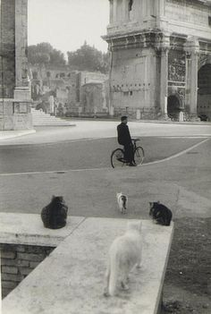 Henri Cartier-Bresson, #Rome, 1959  | #blackandwhite #photography #Italia #50s  #vintage #CartierBresson #Italy #vintage