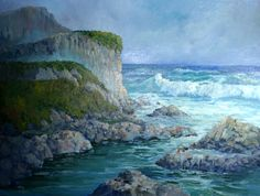 Marge, Northwest Artist specializing in oils and ocean scenes. http://artanddesigninspiration.com/marge/
