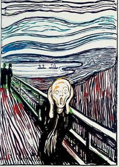 The Scream (after Munch) 1984 Andy Warhol