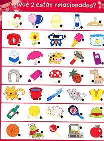 APOYO ESCOLAR ING MASCHWITZT CONTACTO TELEF 011-15-37910372: ACTIVIDADES COGNITIVAS (CUANTOS HAY ?,QUE COMEN? ... Preschool At Home, Preschool Kindergarten, Preschool Worksheets, Preschool Activities, Drawing Games For Kids, Visual Perceptual Activities, Sequencing Cards, School Play, Exercise For Kids