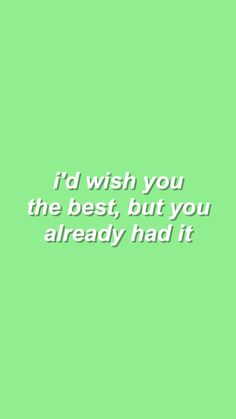 Wish U The Best - Blackbear