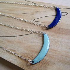 Dangle & Drop Earrings Blue enamel chandelier earrings