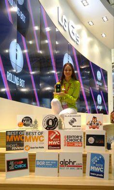 Ver LG G5 & Friends ganan 33 premios en el Mobile World Congress