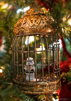 Lego Stormtrooper Christmas Ornament