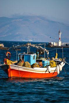 Fishing boat - Mykonos, Greece
