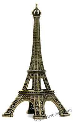 NYCwebStore.com - 12 Inch Eiffel Tower Statues, $24.99 (http://www.nycwebstore.com/12-inch-eiffel-tower-statues/)