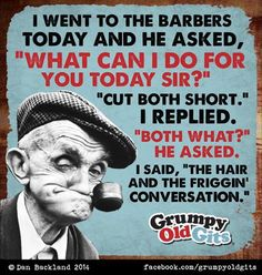 Cut it short What Can I Do, Why People, Laugh Out Loud, I Laughed, Baseball Cards, Sayings, Words, Funny, Comic