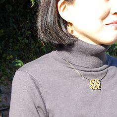 #enamel #necklace and #earrings by #joidart