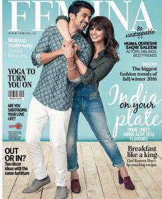 Huma Qureshi and Saqib Saleem show sibling love on Femina's new cover…