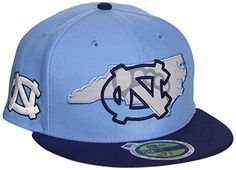 f26030e96f8 North Carolina Tar Heels Fitted Hats Tar Heels