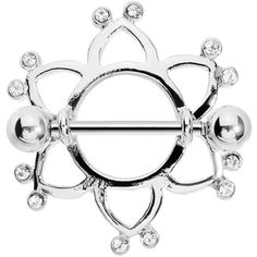 Crystalline Gem BECKONING CELTIC Nipple Shield | Body Candy Body Jewelry
