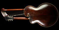 1910 Gibson Model U Harp Guitar