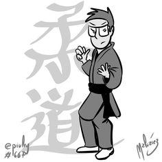 Judo  World Judo Day.  Día Mundial del Judo. : #FanArtZ : #Cintiq  #ClipStudioPaint #: #judo #judoka #sport #deporte #judogi #柔道  #illustration #draw #sketch #drawing #art #artistsoninstagram #dailysketch  #cute #adorable #fanart #blackandwhite  #blancoynegro #gray  #digital #digitalpainting #digitalart